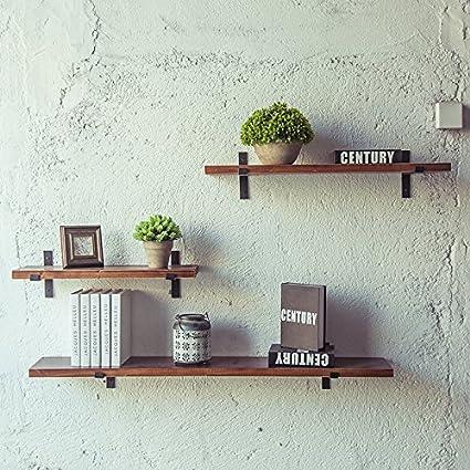 LA&NA LOFT estilo DIY Wall Shelf estantes de la decoración de ...