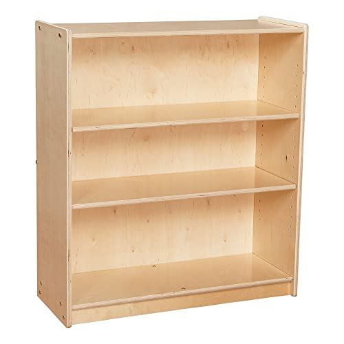 Sprogs Wooden Bookcase With Three Shelves SPG 2072A