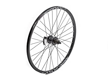 Tru-build Wheels RGR855 - Rueda trasera para bicicleta (para freno de disco, 26 pulgadas), color negro: Amazon.es: Deportes y aire libre