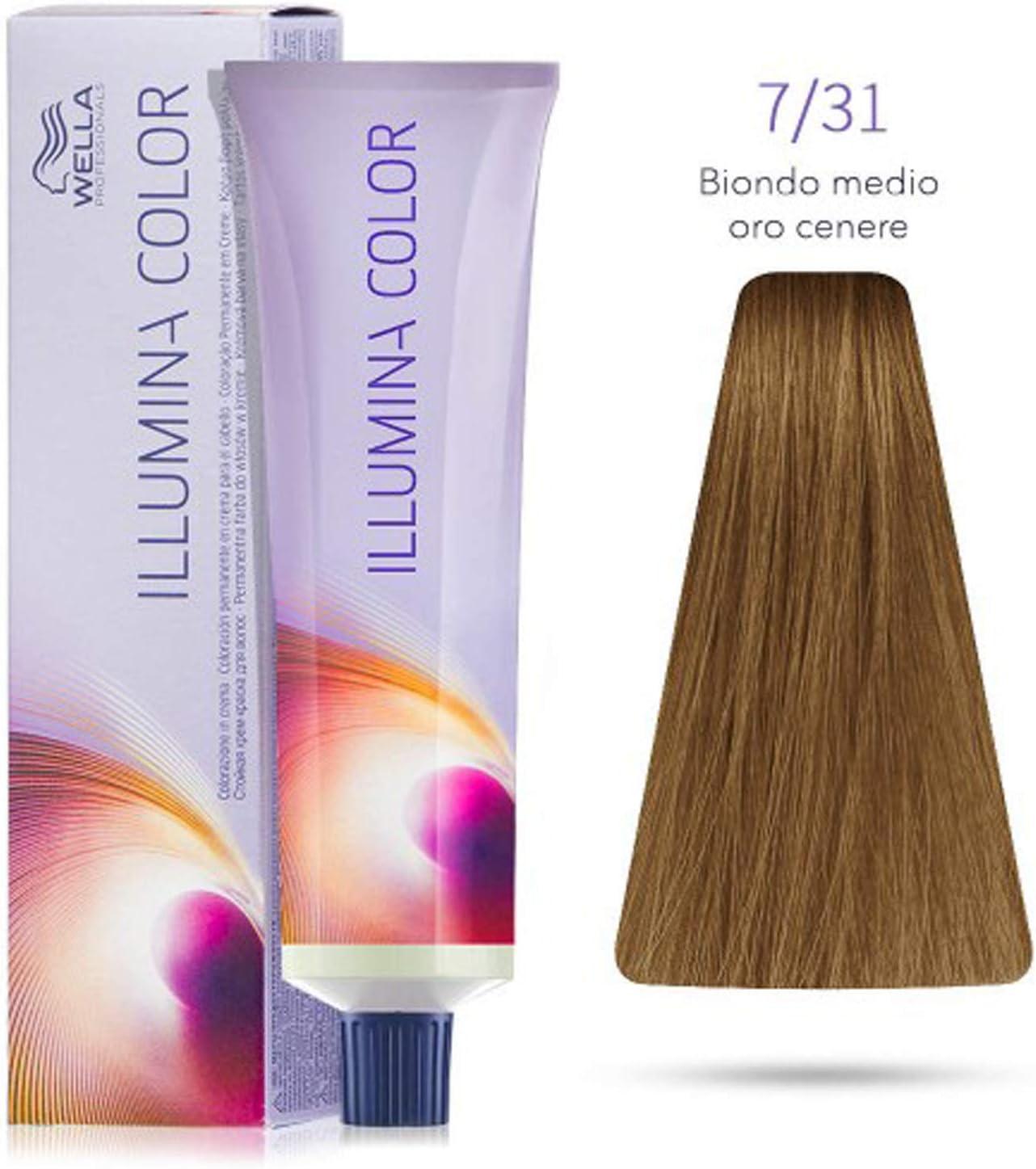 Illumina Color Wella 9/60 10/1 8/7/31 7/7/7/3 8/38 Rubio ...