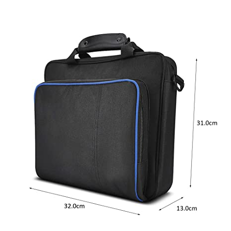 Amazon.com: Delaman Bolsa de transporte PS4 bolso de viaje ...