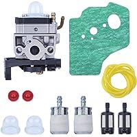 Haishine Carburador Válvula de retención Junta Válvula de Filtro de Combustible Juego de Manguera Fit Honda GX35 GX35NT…