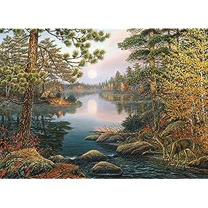 Cobblehill 80139 1000 Pc Deer Lake Puzzle Vari