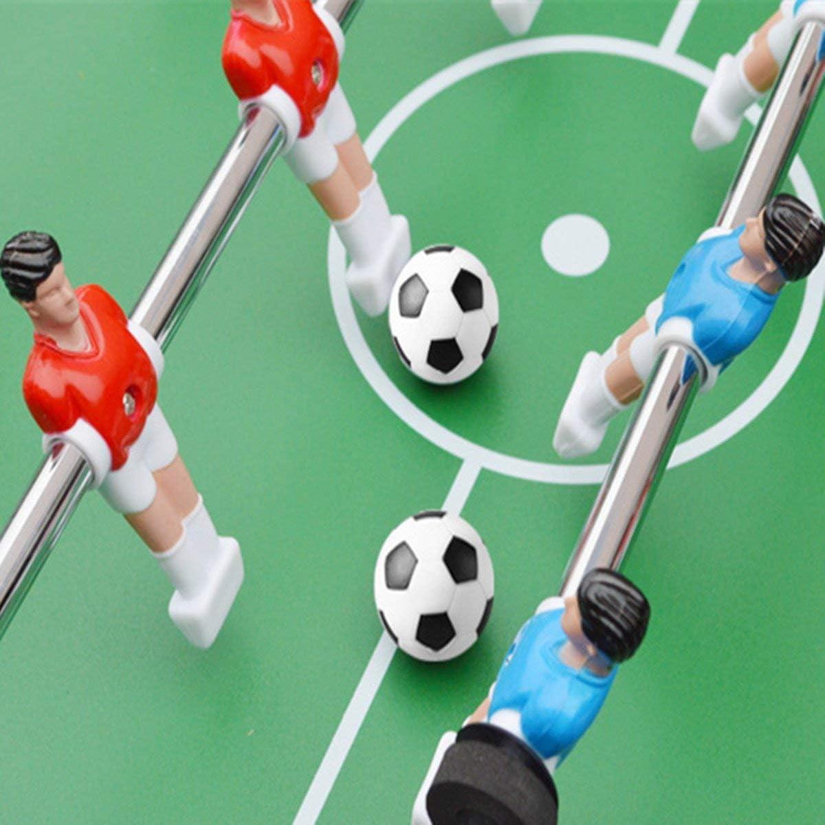 ULTNICE Pelotas para Futbolín Bolas del balompié de la tabla de 6PCS 32mm negro/bola blanca: Amazon.es: Juguetes y juegos