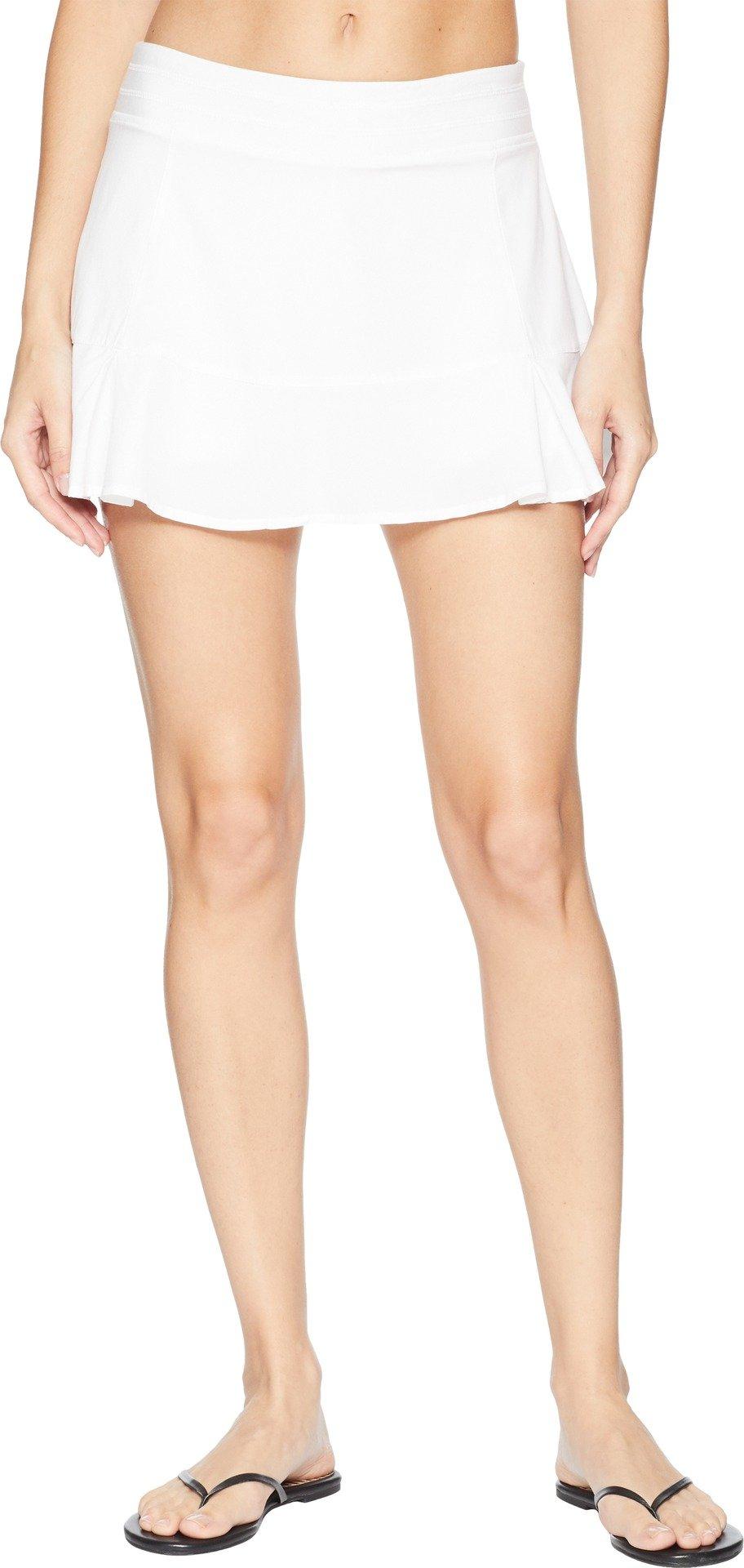 tasc Performance Rhythm Skirt, White, Medium by tasc Performance