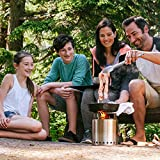 Solo-Stove-Campfire-Largest-Solo-Stove-Compact-Wood-Burning-Rocket-Cook-System-for-Backpacking-Camping-Survival-Burns-Twigs-NO-Batteries-or-Liquid-Fuel-Gas-Canister-Required