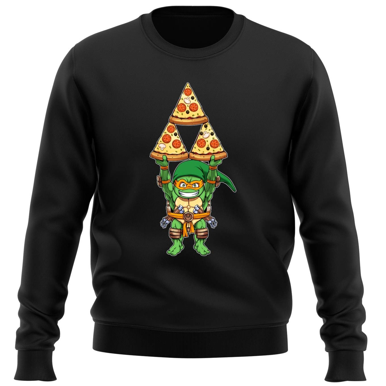OKIWOKI Sudadera Negra Las Tortugas Ninja - Zelda ...