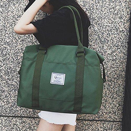 Bag Donna Shoulder Borse Bag A Elegante Viaggio Spalla Messenger Moda In Feixiang Spiaggia Spalla Donna Tote Verde Tela Da Borsa Tracolla Per TTUtq