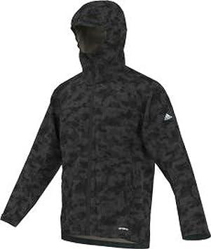 adidas Herren Outdoor Wandertag Aop Jacket, schwarz, 48