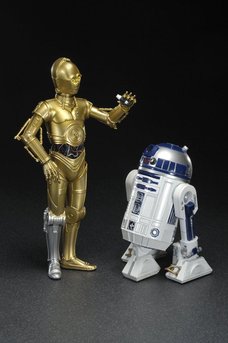 1//10 Scale PVC Figure ARTFX Japan Star Wars ARTFX+ R2-D2 /& C-3PO Kotobukiya