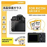 ORMY Tempered Glass Camera Screen Guard for RICOH GR II/GR [Ultra-thin,...