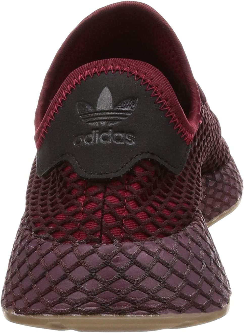 adidas Deerupt Runner, Chaussures de Gymnastique Homme Rouge Collegiate Burgundy Collegiate Burgundy Ash Green S18