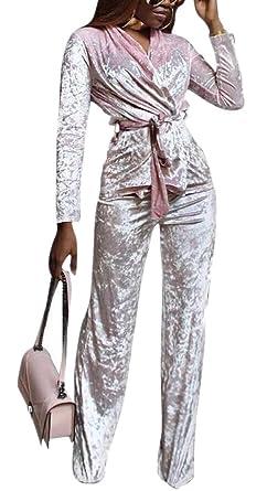 BingSai - Chándal - para Mujer Rosa Rosa XS: Amazon.es: Ropa y ...