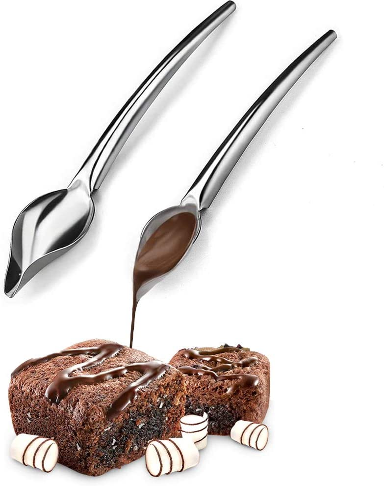 So/ßenmall/öffel Edelstahl Chef Draw Tools Coffee Spoon SFASTER Culinary Precision Drawing Decorating Spoon Set Art Culinary Accessories for Halloween Christmas Party