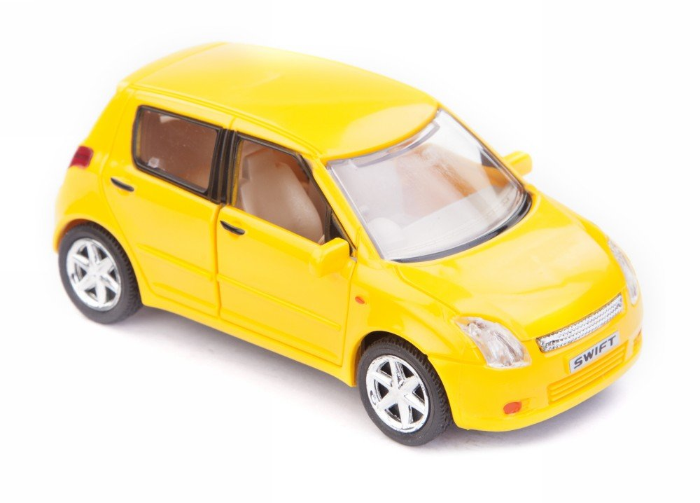 8cebfb52f7 Buy Centy Toy Maruti Swift Car Pull Back Action Miniature Toy (Door  Openable) (Yellow) Online at Low Prices in India - Amazon.in