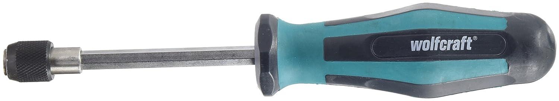 Wolfcraft 8725000 1 Handschraubendreher mit Bitaufnahme