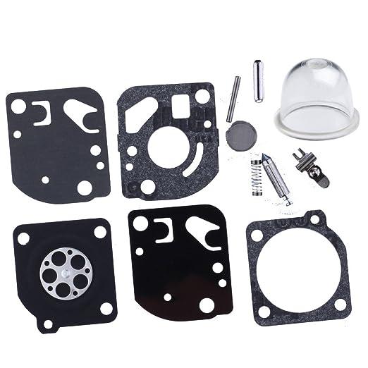 HIPA 12530051030-Lote de membranas de juntas y carburador para ...