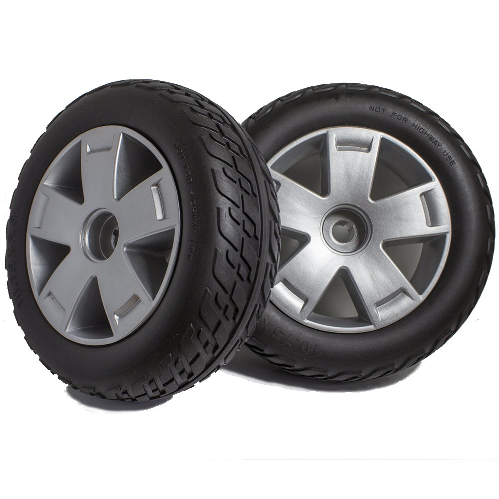 DW840 Pride Victory 10 3 or 4 Wheel Scooter Rear Wheels and Tire Replacement, Sold in Pairs by New Solutions