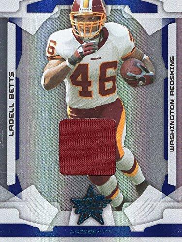 2008 Donruss Certified Football - LADELL BETTS 2008 DONRUSS