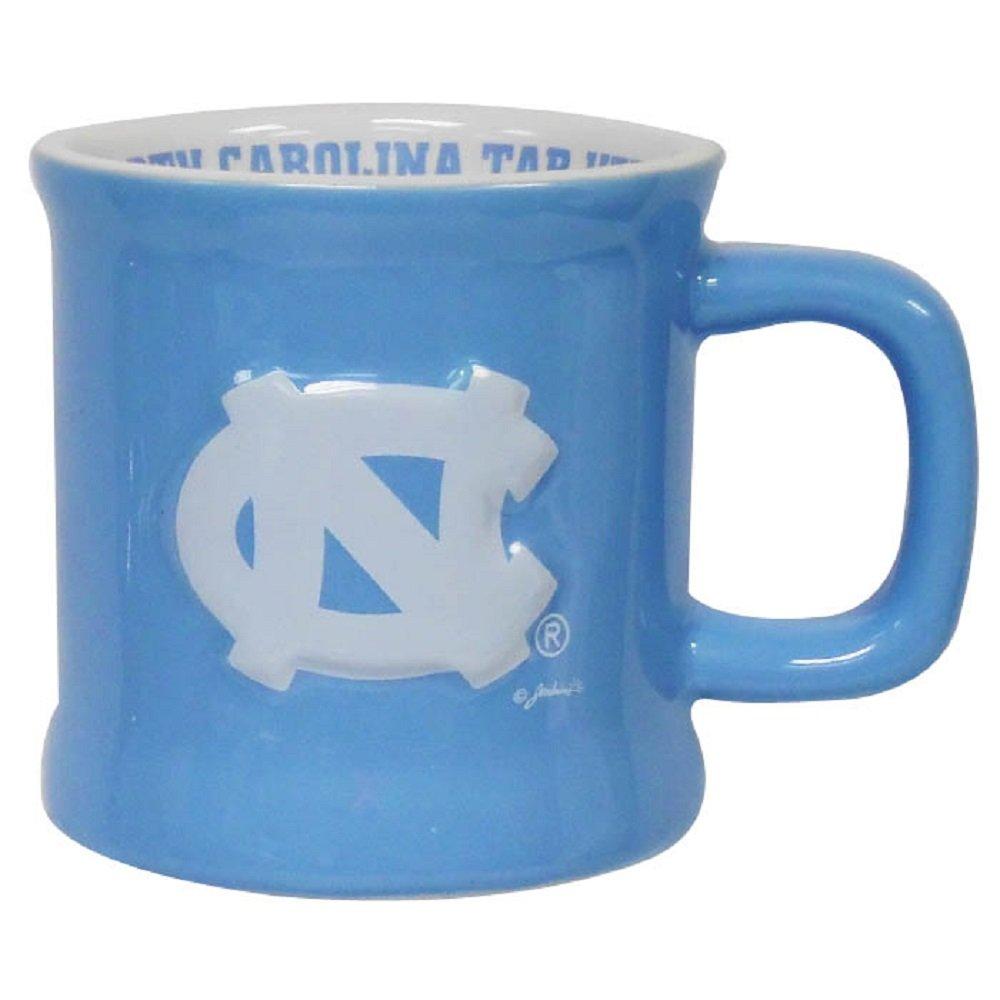 Jenkins Enterprises North Carolina Tar Heels Ceramic Relief Mug
