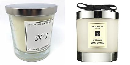 Aldi lujo Vela aromática No1 Lime Basil & MANDARIN