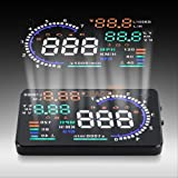 5 colors car auto Head Up Display HUD - OBD2 with 5.5 inch display highest quality
