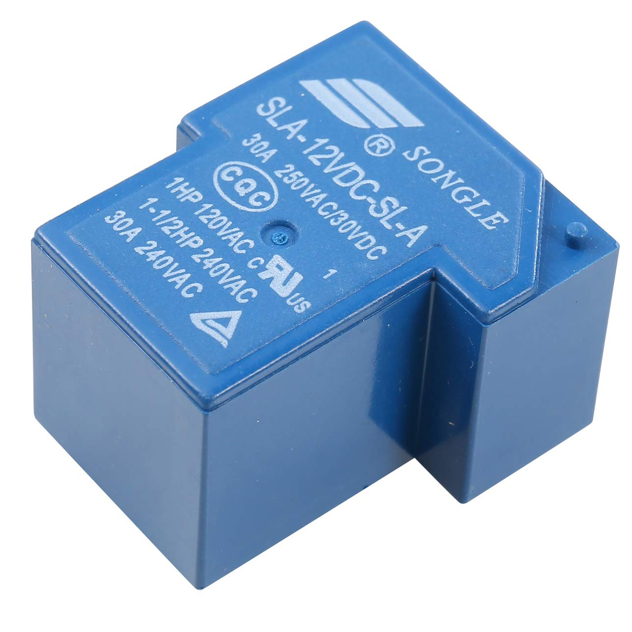 HWMATE DC 5V 30A Power Relay PCB Mount 5 Pins Normally Open Type 10 Pack
