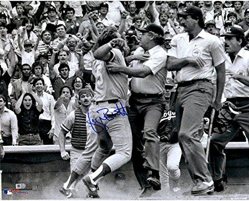 (George Brett Kansas City Royals Pine Tar Autographed 16