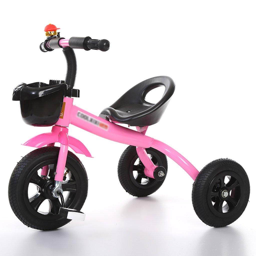 子供用トライク、三輪車の乗り物バイク、赤ちゃんの滑り自転車、おもちゃの自転車、自転車の子供、フットペダルの3つの車輪 (色 : D) B07DVKDH7W D D