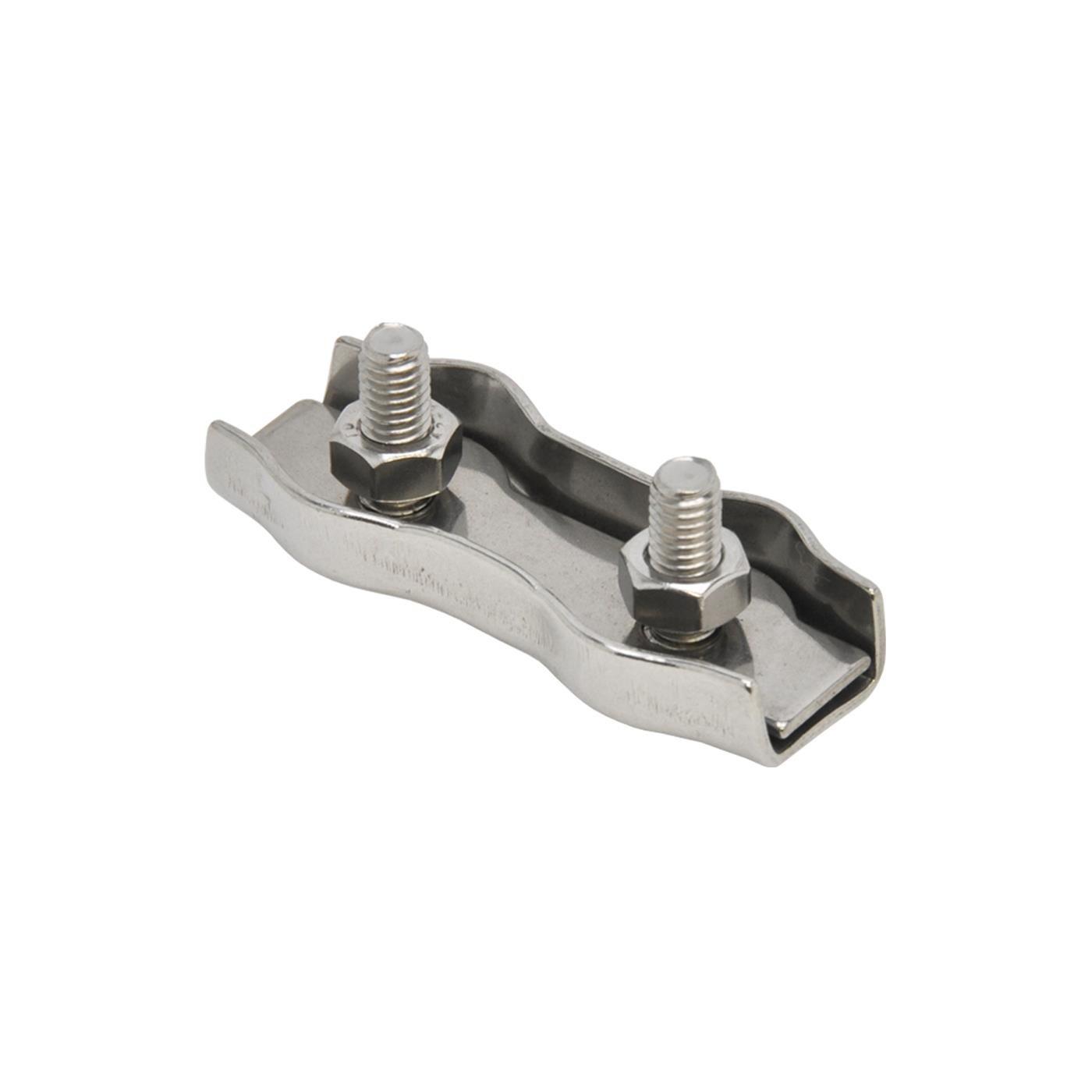 5x Raccord Jonction Fil et Corde de Cl/ôture /Électrique 6mm Acier Inox