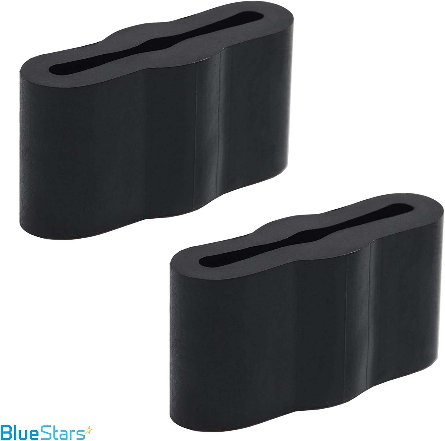 Replaces WP8268961 WP8268961VP Exact Fit For Frigidaire /& Kenmore Dishwashers Ultra Durable 8268961 Dishwasher Friction Pad Replacement Part by Blue Stars PACK OF 2