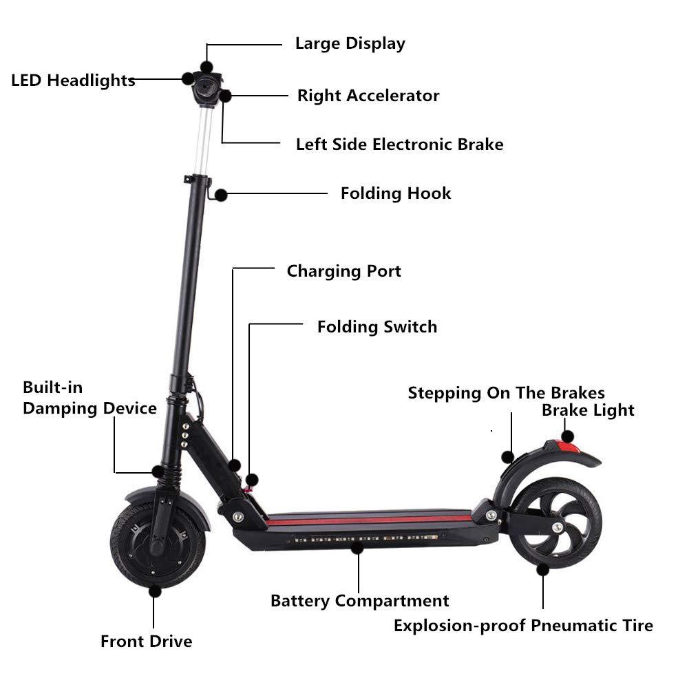 Amazon.com: ESWING - Patinete eléctrico de dos ruedas ...