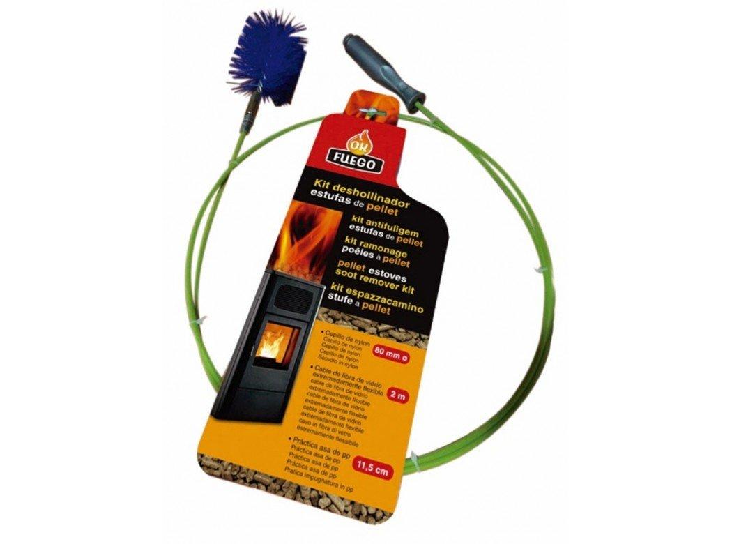 FUEGO 50268 - Deshollinador e/pellet 80mm.ny kit 2m.: Amazon.es: Bricolaje y herramientas