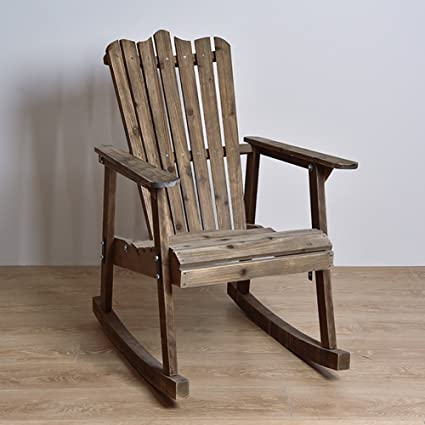 Surprising Amazon Com Rocking Chairs Wssf American Vintage Wooden Ncnpc Chair Design For Home Ncnpcorg