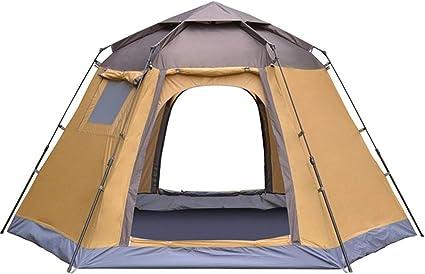 Lwieui Tienda Carpa automática 4 Personas Instant Camping ...
