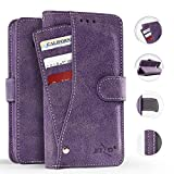 phone cases for a lg slide phone - LG X Charge Case, Zizo Slide Out Wallet Pouch - Thin Lightweight Wallet Case w/Credit Card ID Holder - Heavy Duty Protective Cover - LG X Power 2 LV7