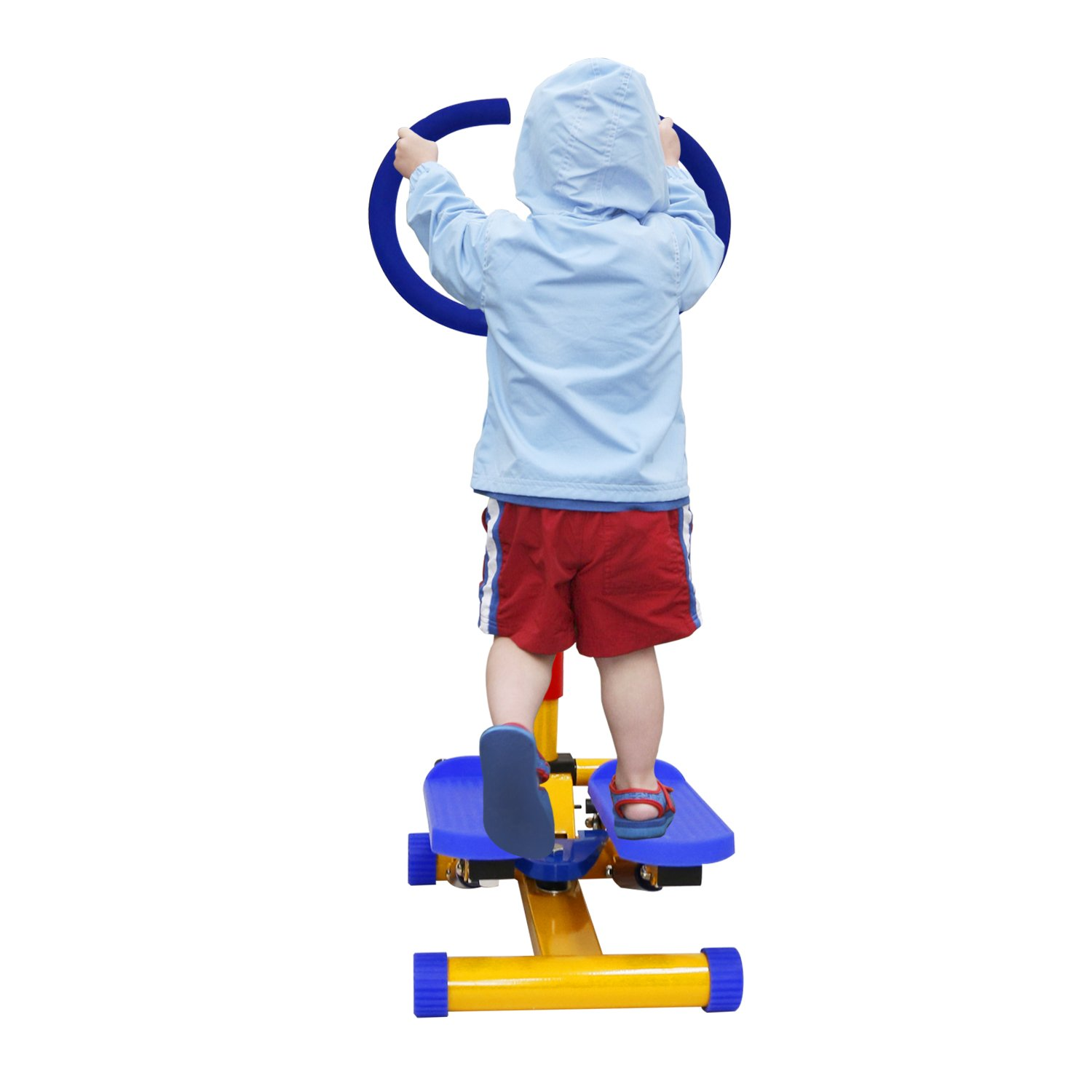 Kinbor Fun and Fitness Exercise Equipment for Kids Children Stepper Step Equipment Thigh Machine