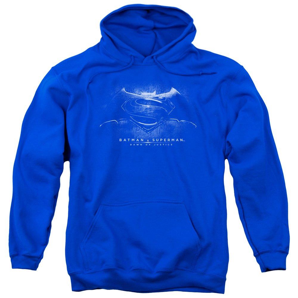 Trevco Mens Batman V Superman Hoodie Sweatshirt