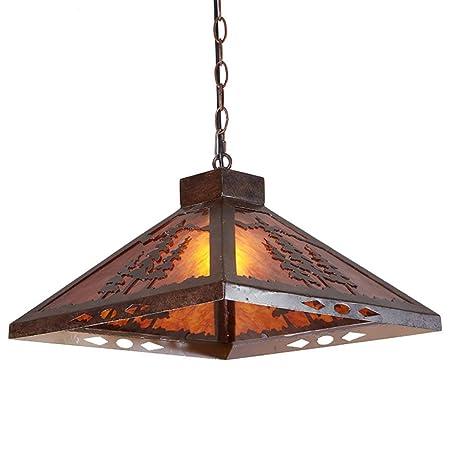 Amazon.com: XQY Living Room Ceiling Lamp,Retro Chandelier ...