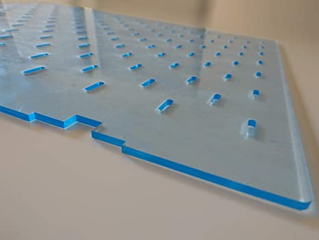 CNCproFAB Separador de metacrilato para Acuario (288 x 350 (Ancho x Alto))