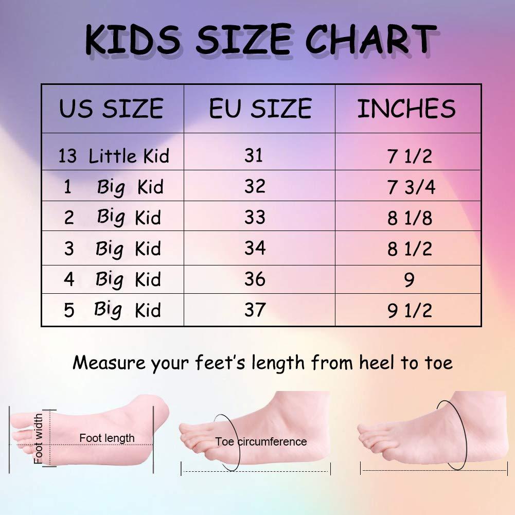 LULEX Little-Girl-Sandals-Kid-Strap-Flat Girl Elastic Sandals Shoes Casual Shoes