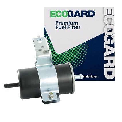 amazon com: ecogard xf54718 engine fuel filter - premium replacement fits  dodge dakota, ramcharger: automotive
