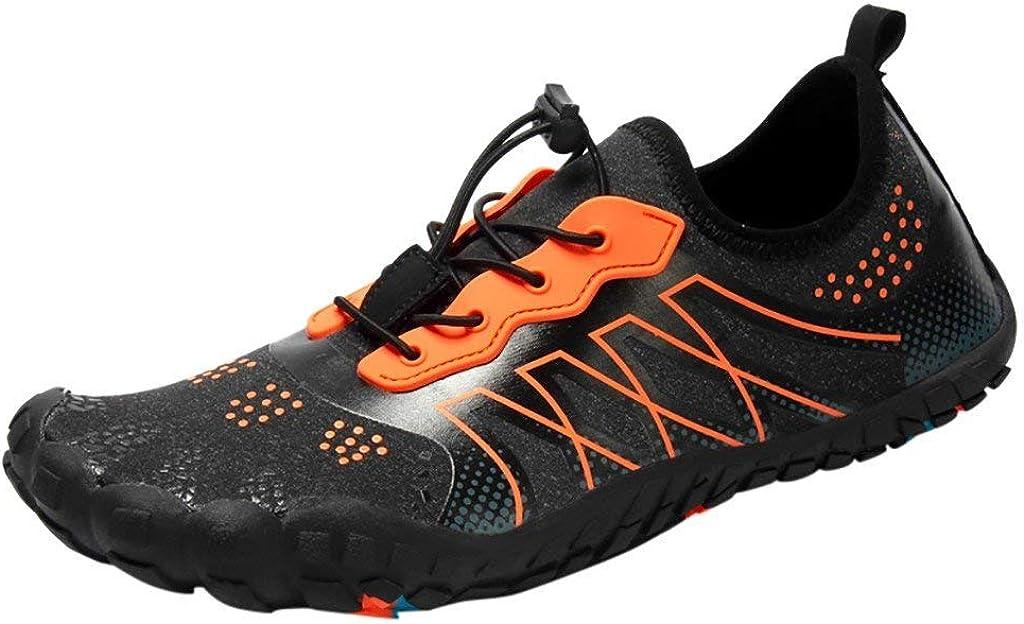 POLP Zapatos de Agua de Secado rápido para Hombre Mujer Piscina de Playa Zapatillas con cordón de Buceo Deportivos Natacion Chanclas Deportes Aire Libre Calzado de Deportes acuáticos 38-47