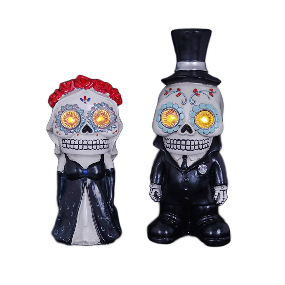 V M Valery Madelyn Day Of The Dead Wedding Decorations