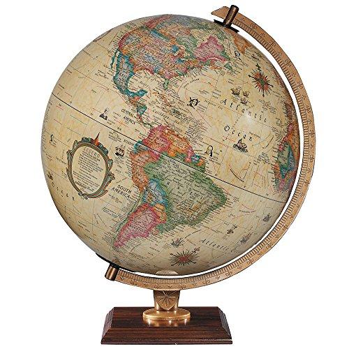 Replogle Globes Illuminated Carlyle Globe, Antique Ocean, 12