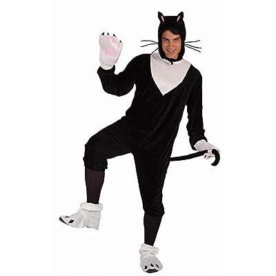 Atosa - Disfraz de gato para hombre, talla M/L (5889): Juguetes y juegos