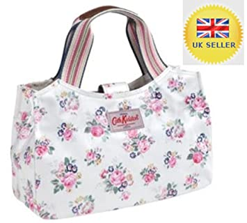 Amazon.com: Genuine Real Cath Kidston White/ Beige Briar ...