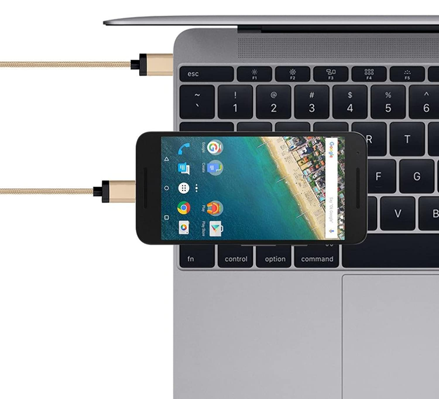 Amazon.com: Mchoice Type-c 2.0 USB Charging Cable Multi-function ...