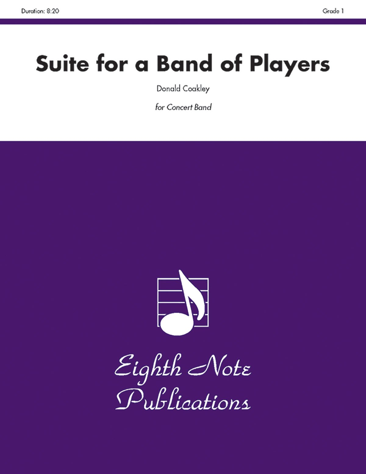 Download Suite for a Band of Players: Conductor Score & Parts (Eighth Note Publications) pdf