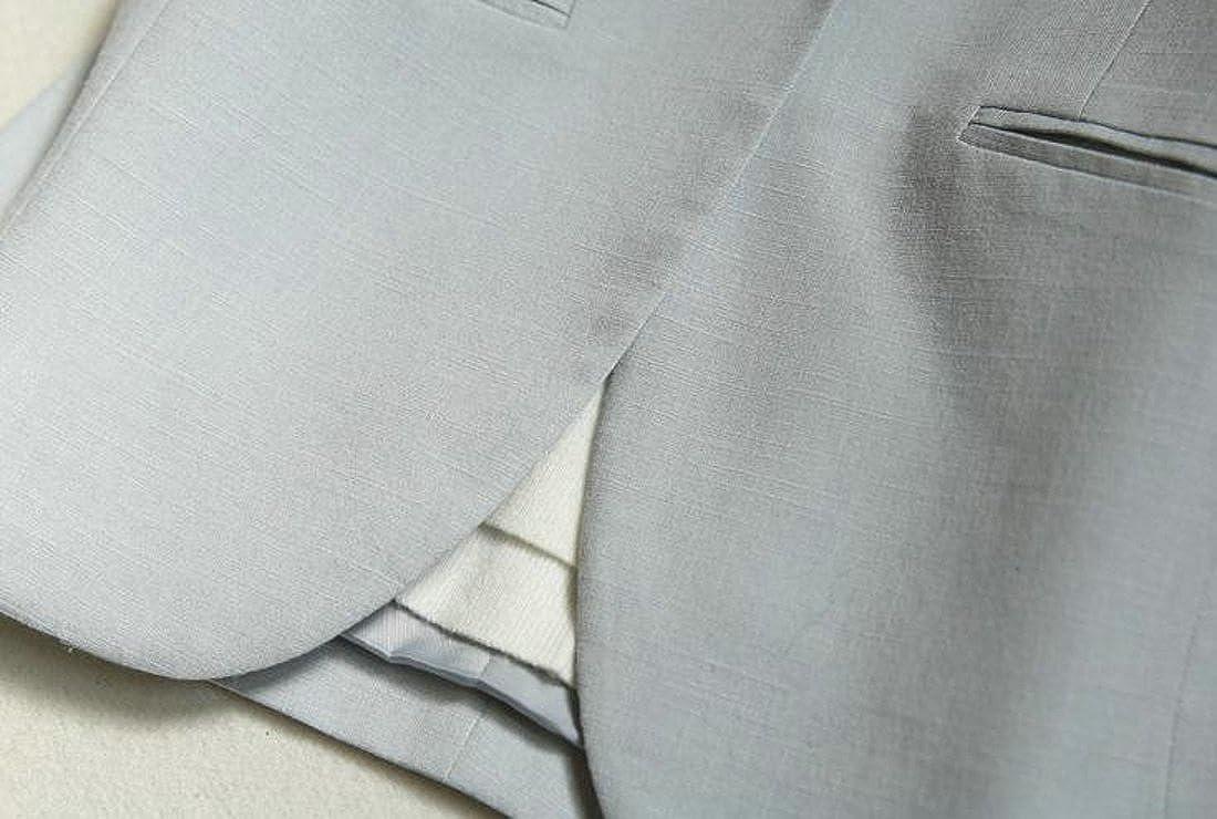 Macondoo Womens 3//4 Sleeve Business Casual Linen Thin Coat Blazer Jacket